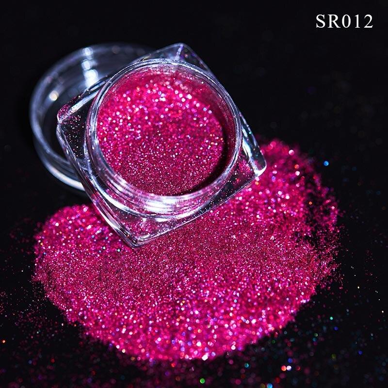 Волшебное зеркало блеск для ногтей Dip порошок Сияющий хром пигмент пыль голографическое искусство ногтей Маникюр УФ пудра для ногтей гель лак - Цвет: VQ01713