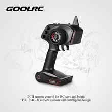 GoolRC оригинальный цифровой радиопульт дистанционного управления Передатчик с приемником для RC автомобиля лодки TG3 3CH 2,4 GHz запчасти