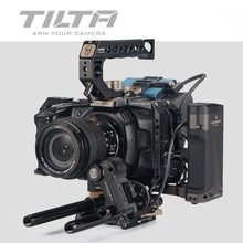 Tilta BMPCC 4K 6K Camera Cage TA-T01-A Full Cage Black Cage for BlackMagic BMPCC4K 6K Top Handle Side handle Tactical finished