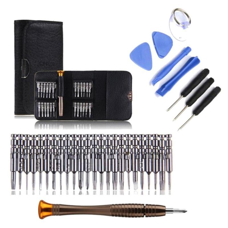33 In 1 Precision Screwdriver Bits Phone Tablet Repair Opening Tools Kit