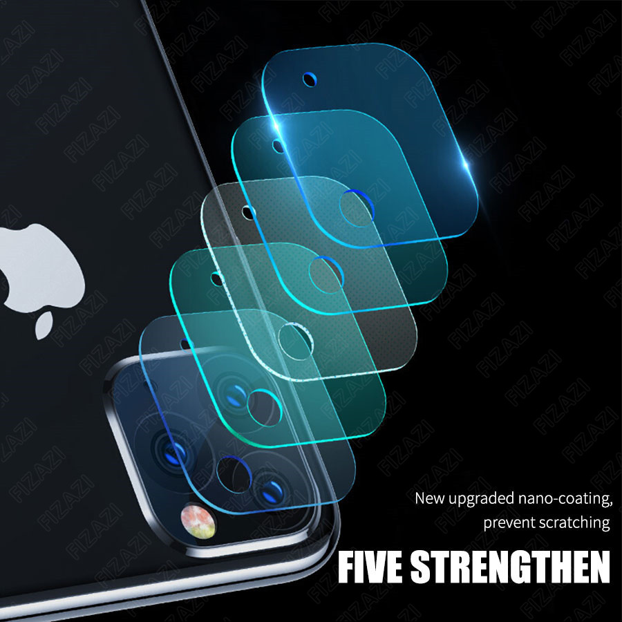 Image 4 - NEW Full Cover Back Camera Case for IPhone 11 Pro Max Titanium Alloy Case with Tempered Glass Rear Camera Lens Screen Protector-in Phone Screen Protectors from Cellphones & Telecommunications