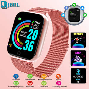 Digital Watches Clock Phone Android Electronic Sport Women Ladies Waterproof Bluetooth
