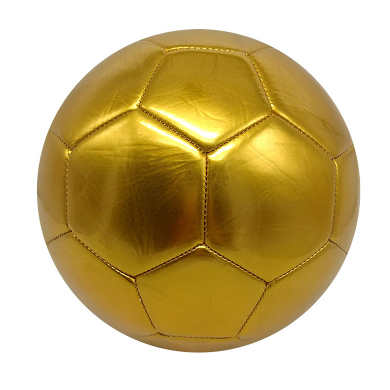 Football Soccer Size 5 Training  Golden Football For Lawn Training Team Sport