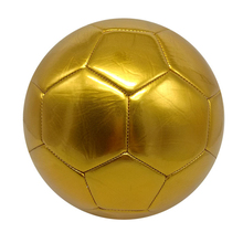 Football soccer size 5 training  golden football for Lawn team sport