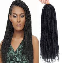Crochet Hair Braids Senegalese Twist Small Havana Mambo Twis