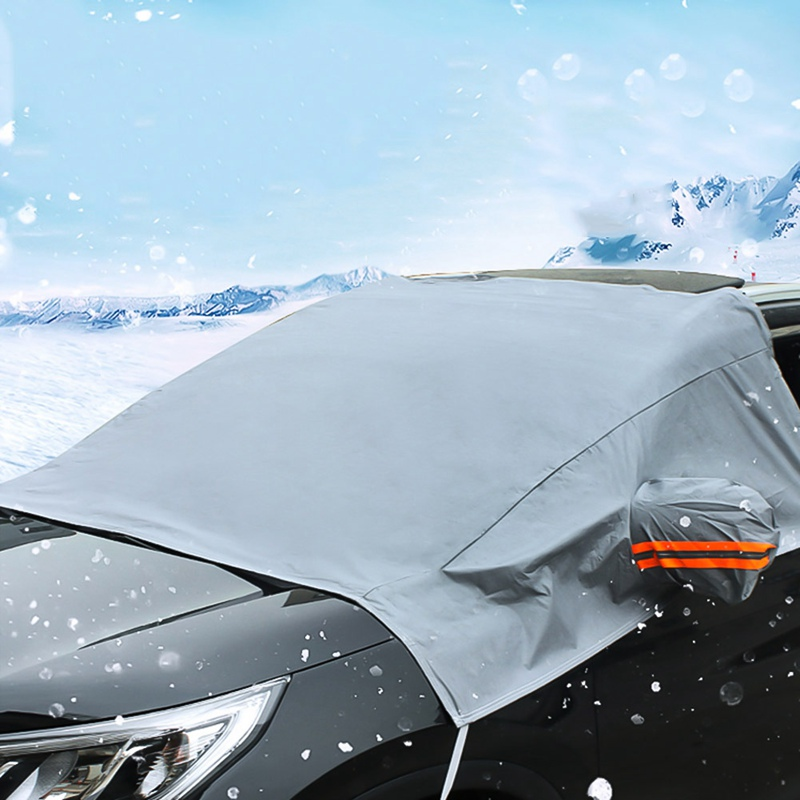 Car Windscreen Windshield Front Glass Sun Shade Cover Snow Frost Dust Protector