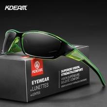 KDEAM Sunglasses Men Classic High Quality PC Frame High Definition Lens Polarized UV400 Outdoor Sports Sun Glasses gafas de sol цена