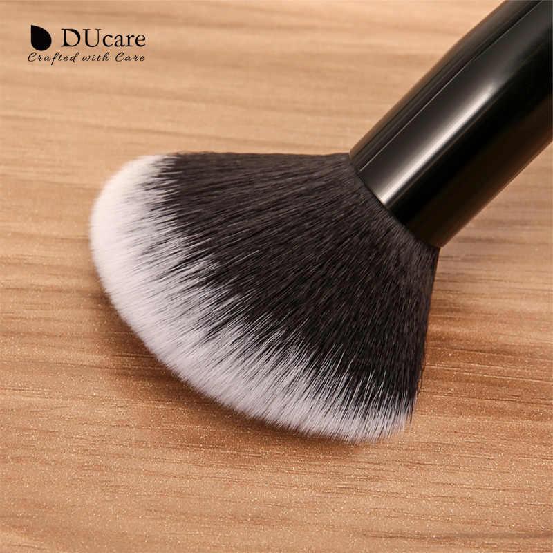 Ducare 20 Pcs Profesional Make Up Brushes Bubuk Foundation Eyeshadow Makeup Brushes Set Natural Kambing Rambut Kosmetik Sikat Set