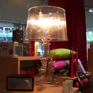 Image 5 - Hiện đại Ma Bóng Trong Suốt Acrylic Trong Suốt Để Bàn Đèn Phòng Ngủ Đầu Giường Học Acrylic Đèn Để Bàn Đơn Giản Nhẹ Nhàng