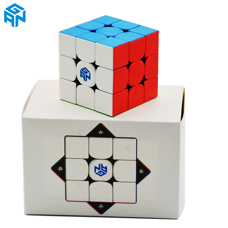 GAN354M V2 3x3x3 Magico Cubes Stickerless With Magnetic Gan 354 M V2 Puzzle Speed Cube For WCA Professional Toys For Children