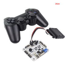 6 24 32 canale Robot Servo Scheda di Controllo del Motore e PS2 Controller + Ricevitore per Hexapod manipolatore Braccio Meccanico Bipede