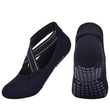 USHINE – chaussettes de Yoga à bandes de haute qualité, antidérapantes, respirantes, à séchage rapide, dos nu, pour danse de Barre