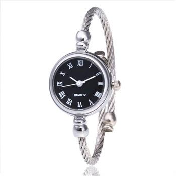 Casual Quartz Stainless Steel Band Bracelet Watch Watch Fashion Women Watches