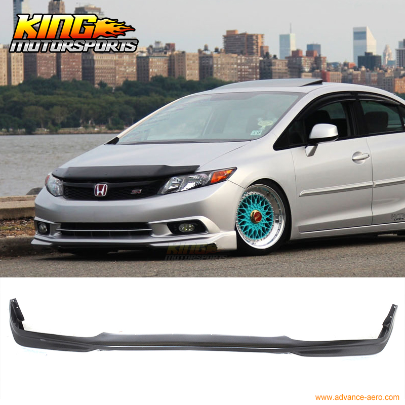 For 2012-2015 Honda Civic Coupe 2 Door ABS Black Rear Roof Window Visor Spoiler