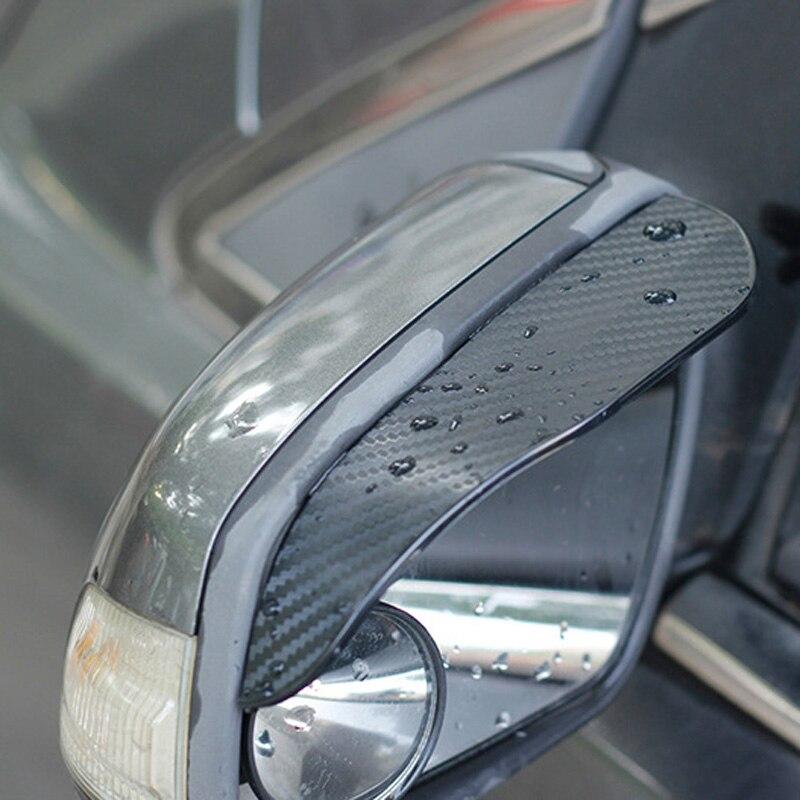 UK Universal Car Rear View Wing Mirror Sun Shade Shield Rain Board Eyebrow Guard