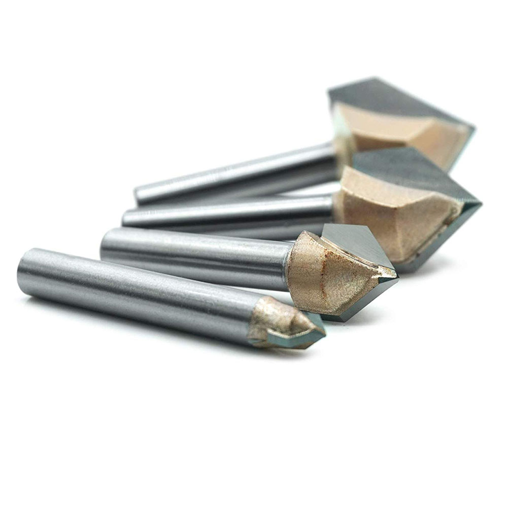 Shank Cnc Spoilboard Surfacing Router Bit Wood Milling