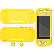 For New Nintend Switch Lite Mini Case Protective Soft Silicone Hand Grip Skin Shell Cover for Nintendoswitch Lite Protection(China)