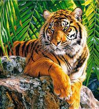 Animaux tigre diamant peinture diamant broderie 5d bricolage plein carré diamant mosaïque diamant peinture diamant diamant diam les animaux