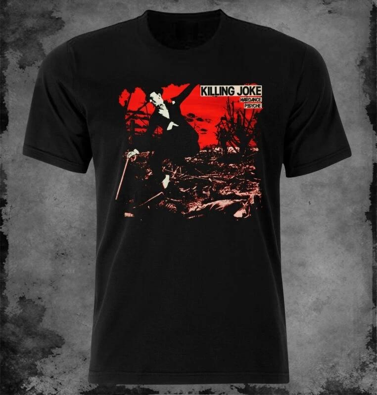 T-Shirt Killing Joke /'Wardance /& Pssyche/' NEW /& OFFICIAL! Black
