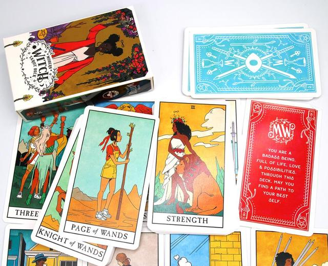 The Modern Witch Tarot Deck Guidebook Card Table Card Game Magical Fate Divination Card 3