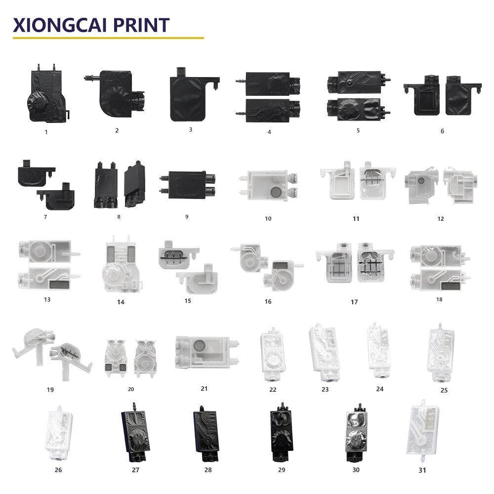 10pcs/set ink damper for mimaki jv33 JV5 CJV30 Printhead Damper Compatible solvent ink filter dx5 printer print head DX5 damper(China)