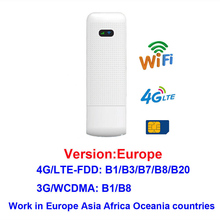 Wireless Router Mifi Usb-Modem Sim-Card-Slot WIFI 4G LTE 150mbps with for iPhone iPad/Pc/Laptop