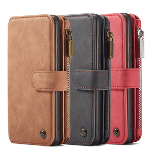 Image 5 - Zipper Wallet Case For Samsung Galaxy S20 S20 Plus Detachable Magnetic Case for Samsung S20 Ultra 14 Card Holders Flip Case