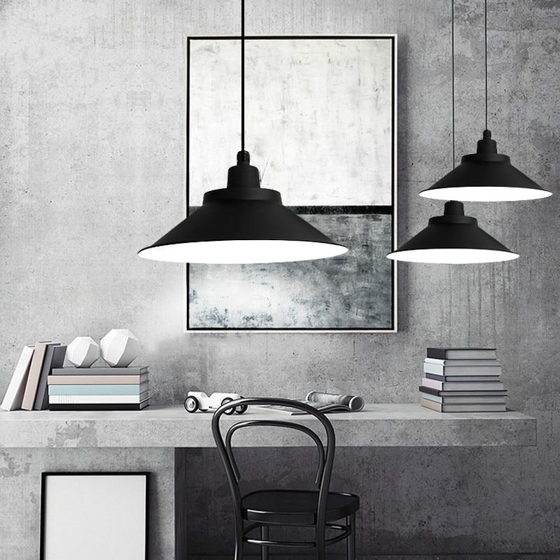 Industrial Chandelier Lights Retro Loft Decor Led Pendant Lamp Office Simple Hanging Light Fixture Indoor Lighting Home Decor