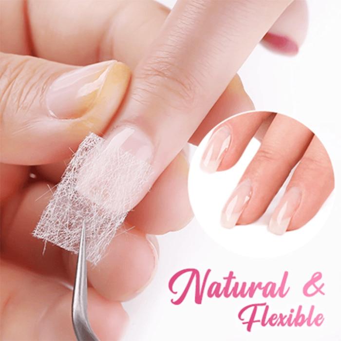 FiberBeauty Nail Extension Silk Fiberglass