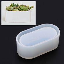 Mould-Storage-Box Epoxy-Mold Crafts Crystal Jewelry-Making Silicone Flowerpot DIY