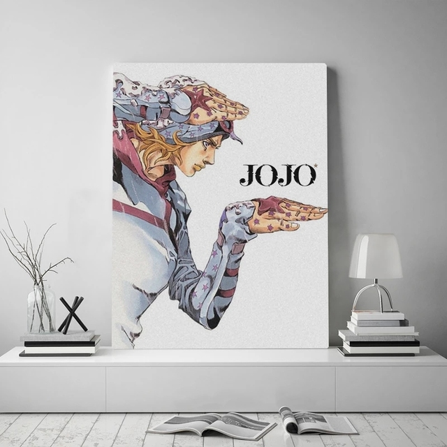 Canvas Prints Johnny Joestar Paintings Wall Art Jojo S Bizarre Poster Anime Role Modular Pictures For Bedroom Modern Home Decor
