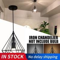 20cm Vintage Industrial Rustic Flush Mount Ceiling Light Metal Lamp Fixture Nordic Style Creative Retro Light Lamp Black / White|Ceiling Lights|Lights & Lighting -