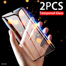 2pcs tempered glass full protector for Huawei Honor 8 Lite 8A Pro 8C 8S 8X A8 C8 S8 X8 Honor8 A C S X 9H screen protective films(China)