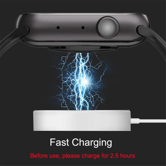 Smart Watch Men Smartwatch Women Dial Call Watch Waterproof Fitness Tracker Music Control 2021 For Iphone Xiaomi Huawei IWO+gift 5