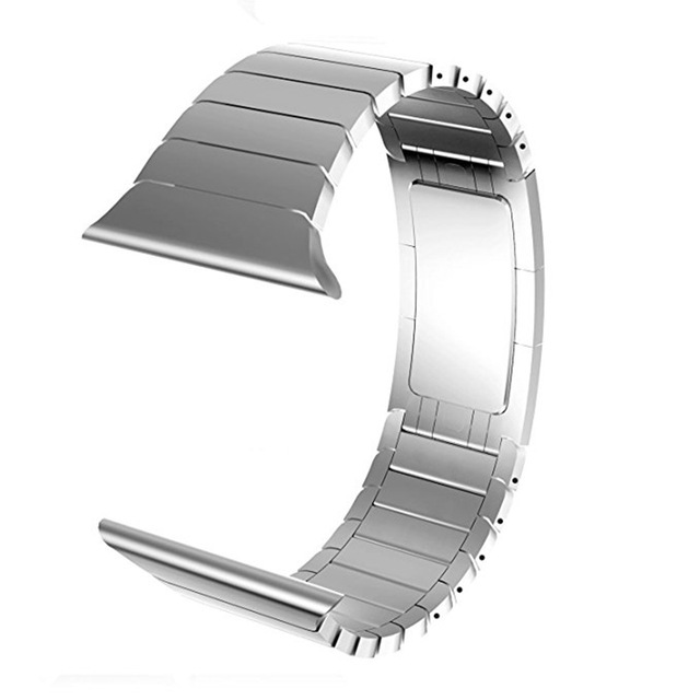 Men's Metal Business Strap for apple watch band 44/40/42/38mm Stainless Steel sport loop band Bracelet for iwatch series 4 3 2 1   Fotoflaco.net