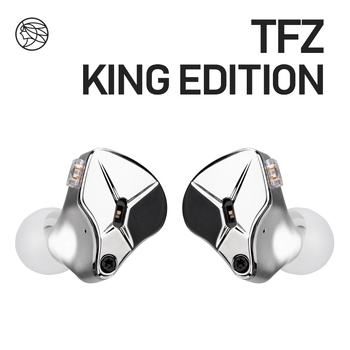 TFZ HIFI In Ear Wired Earphone Metal cavity Stereo headset,KING EDITION Mode adjustment Noise Isolating Earphone kz ed2 in ear earphone wired hifi headset anti noise enthusiast special use for iphone xiaomi with 3 pair earmuffs