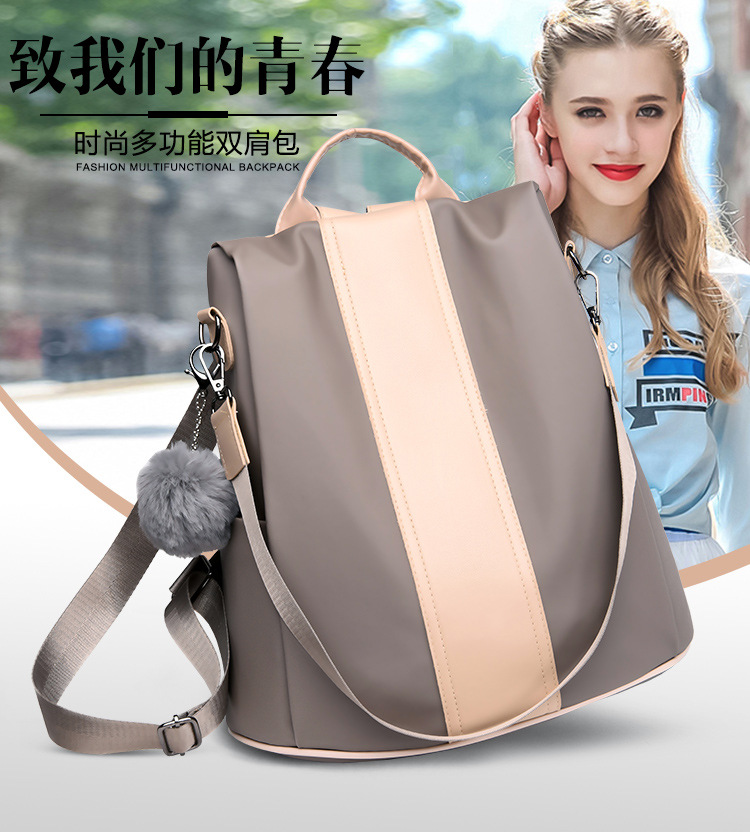 Hedd596c5e74d4e41b35e32558a2475536 2019 Women Leather Anti-theft Backpacks High Quality Vintage Female Shoulder Bag Sac A Dos School Bags for Girls Bagpack Ladies