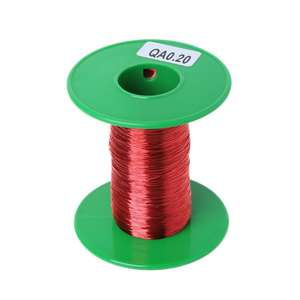 100m QA Polyurethane Enameled Copper Wire 0.2mm Welding Wires Coil Winding