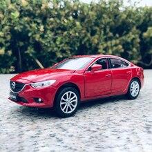 2021 New 1:32 Mazda ATENZA Mazda6 Car Model Alloy Car Die Cast Toy Car Model Pull Back Children