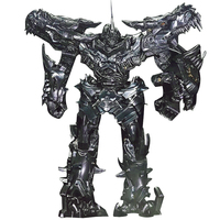 Deformed toy Grimlock Ancient Lord Dinosaurs Black Mamba ABS plastic alloy version LS 05 Auto Robot Model
