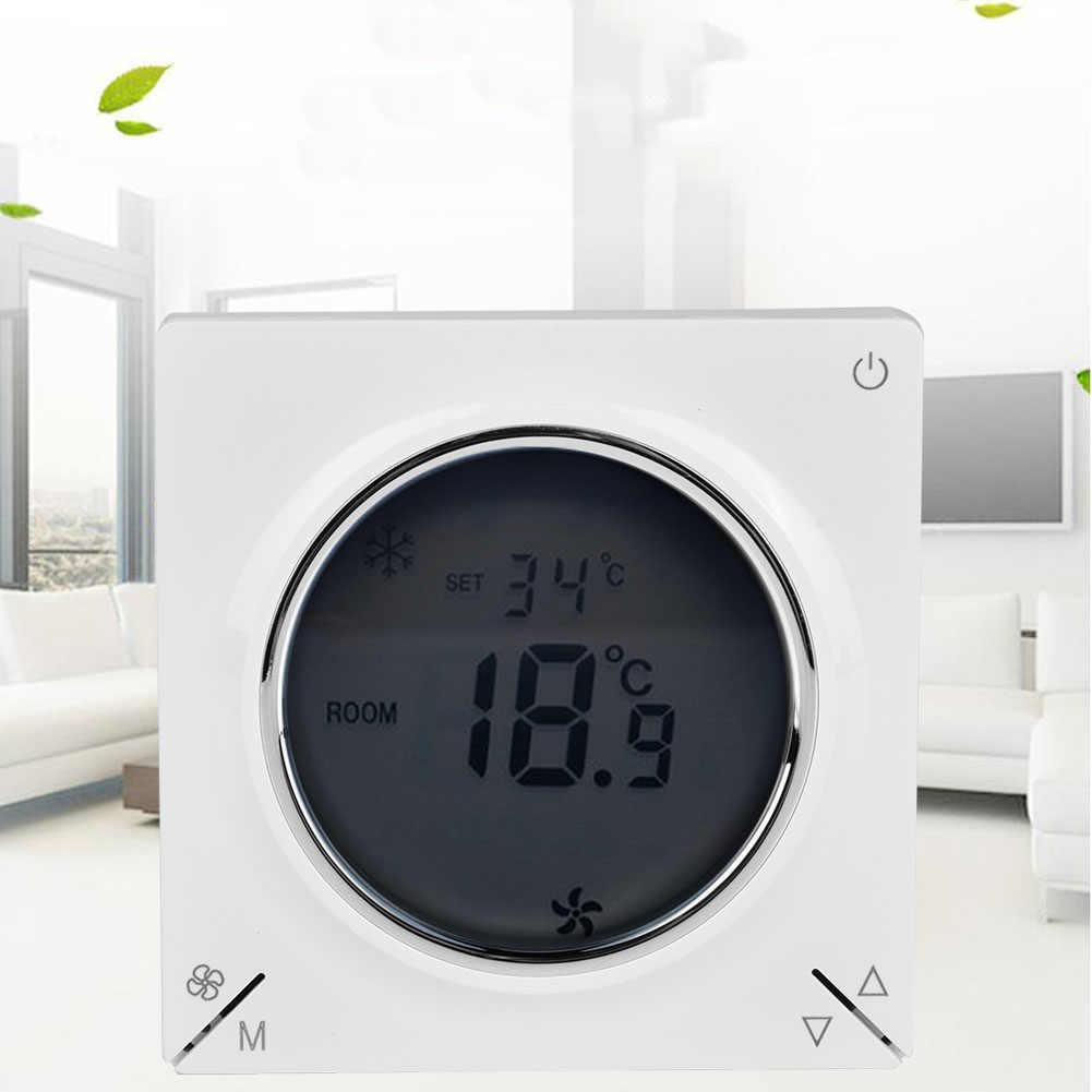 LCD climatisation ventilo-convecteur Thermostat Central refroidissement chauffage régulateur de température ambiante