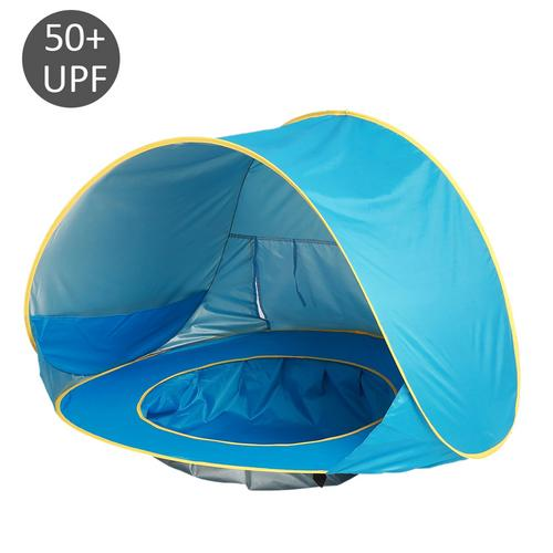 Kids Baby Games Beach Tent Portable Build Outdoor Sun Child Swimming Pool Play House Tent Toys Support Dropshipping