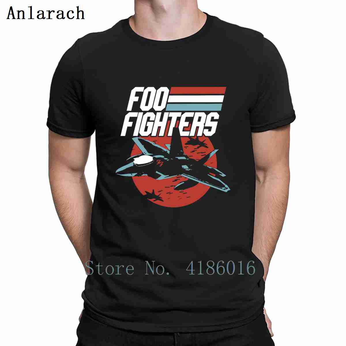 Foo Fighters Fighter Jet T Shirt Cotton Gift Size S-5xl Character Family Fashion Clothes Summer Shirt image