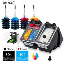 Dmyon 304 xl совместимый картридж с чернилами для hp deskjet