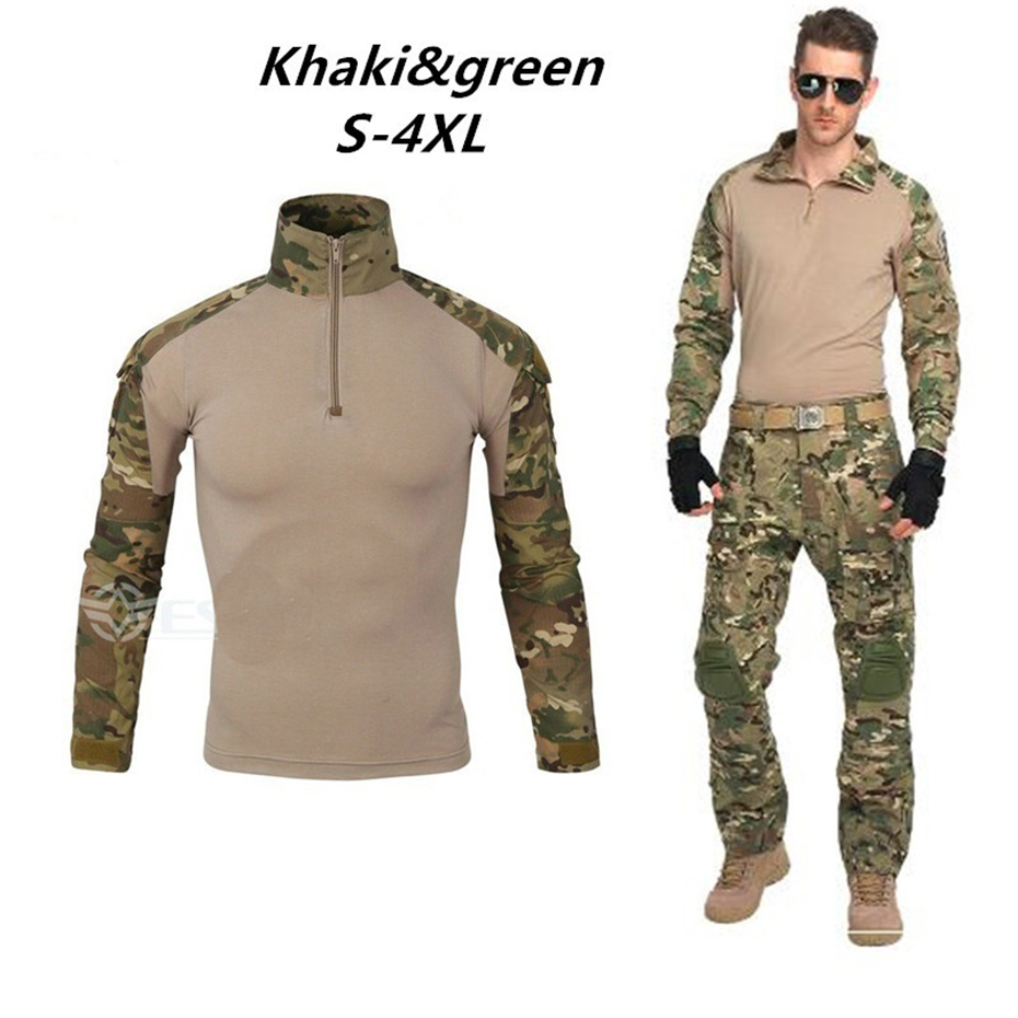 New Fashion Men Set Long Sleeve Camouflage Hoodies Set Male Tracksuit Outdoors Sport Suit Men's Gyms Set Casual Sportswear Suit