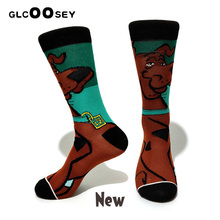 Pack Cartoon Rabbit Sock Casual Hip Hop Creative Soft Comfortable