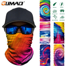 3D Seamless Cycling Mask Neck Warmer Face Shield Tube Sport Bike Skiing Fishing Bandana Warm Headband Scarf Men Women Balaclava(China)