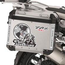 цены на Aluminum cases Stickers Decal Travelled box panniers Luggage Side Tail Top case Fits For Benelli TRK 502 X TRK 521 ADV TRK502  в интернет-магазинах