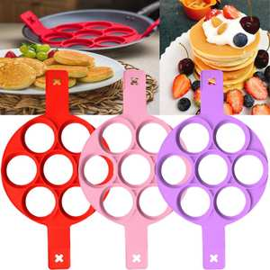 Mold Gadgets-Accessories Cooking-Mould Pancake-Maker Kitchen Silicone Egg-Omelette-Eggs-Ring
