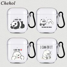Protection-Cases Headphone Apple Airpods Wireless Headset-Covers Bluetooth Soft-Silicone